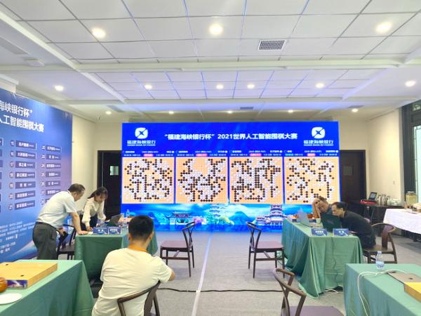 2021世界人工智能围棋大赛首日 星阵第二轮不敌大胖