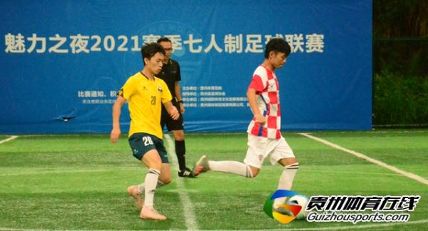魅力之夜2021赛季7人制足球夏季联赛 慕念·民宿6-4嘿!兄弟