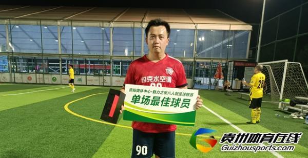 贵阳市八人制足球乙级联赛 豪横暖通8900联队6-3赤麟FC