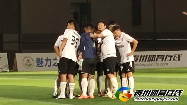润铁祥1-3黔悟酒库 余迪取得进球