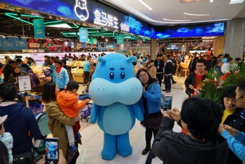 """""""双11""""盒马鲜生订单增325% 北京连开两家新店"""
