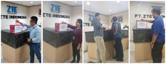大爱无疆 印尼地震中兴通讯抗震救灾进行时