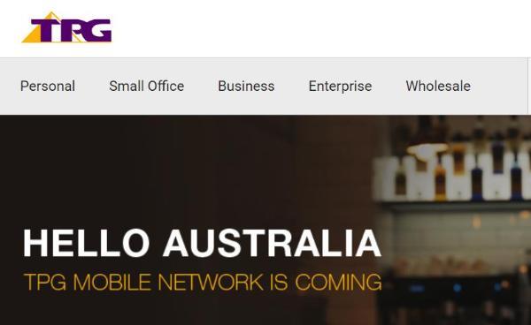 因华为禁令 澳洲运营商TPG被迫放弃建设移动网络