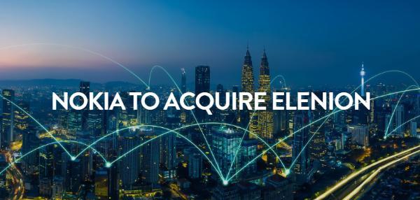 诺基亚拟收购硅光子公司Elenion,推动光网络业务增长