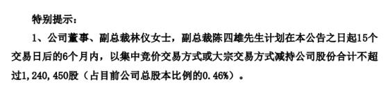 科华恒盛2名股东拟减持股份 预计合计减持不超总股本0.46%