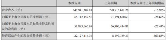 报喜鸟2020年第一季度净利6511.22万下滑28.60% 政府补助减少所致