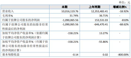 桃花坞2019年亏损109.01万由盈转亏 未收到政府补助