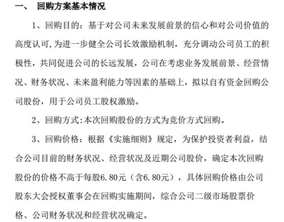 华清飞扬拟花不超330万回购公司股份 用于公司员工股权激励