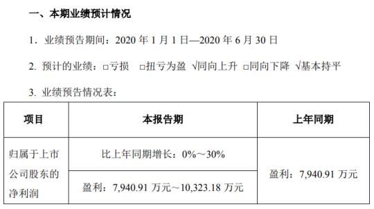冰川网络2020年上半年预计净利7940.91万元-1.03亿元 移动游戏充值金额同比增长