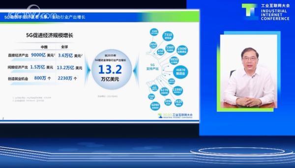 """中国移动赵大春:""""五个升级""""推动5G+工业互联网加速发展"""