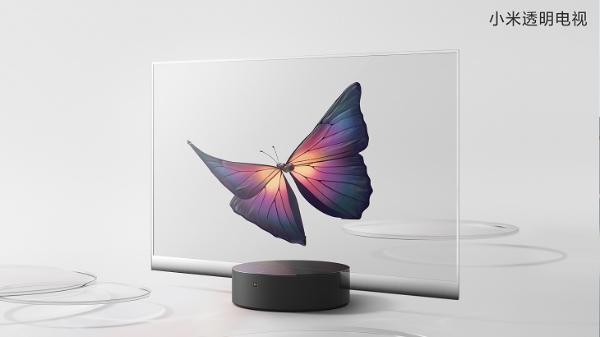 小米发布全球首款量产透明电视售价49999元