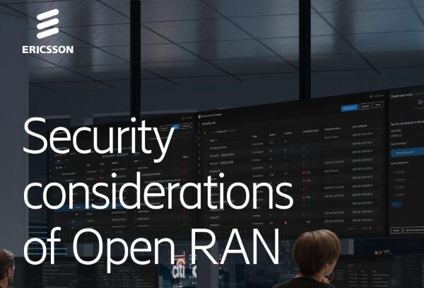 爱立信对Open RAN技术安全性发出警告