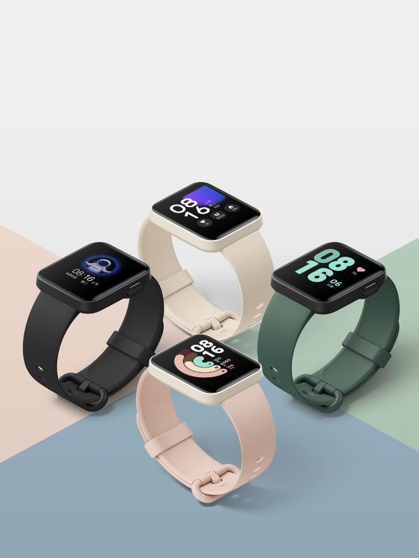 Redmi Watch小方屏到手价269元:7种运动模式 支持小爱同学和NFC