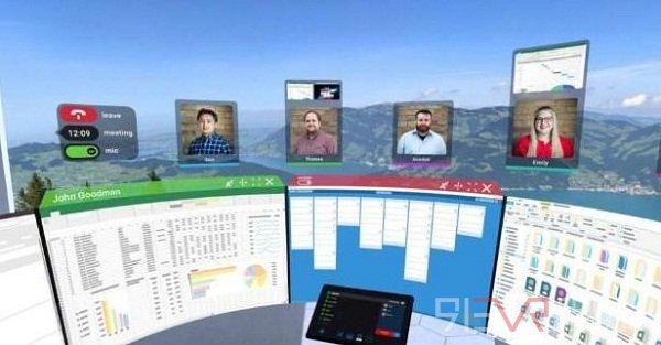 vSpatial平台旨在运用VR技术支持远程交流