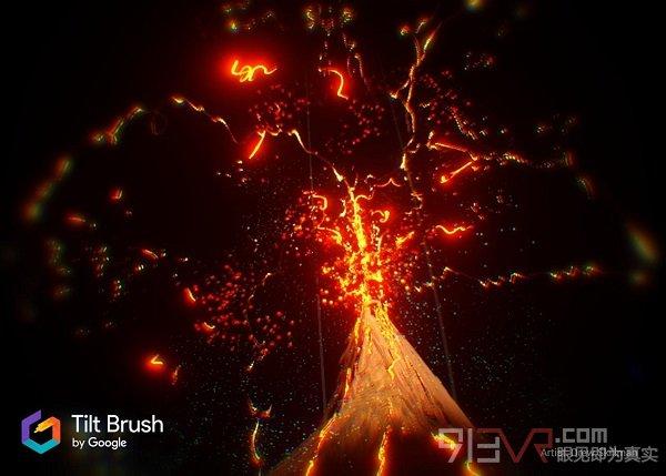 VR创意应用《Tilt Brush》更新推出新手模式