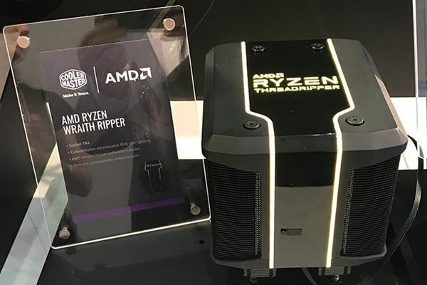 AMD 32核心热设计功耗达250W 酷冷至尊定制...