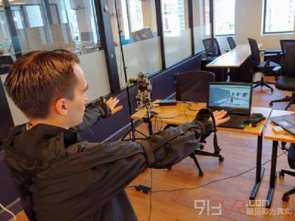 HoloSuit成为VR的理想选择