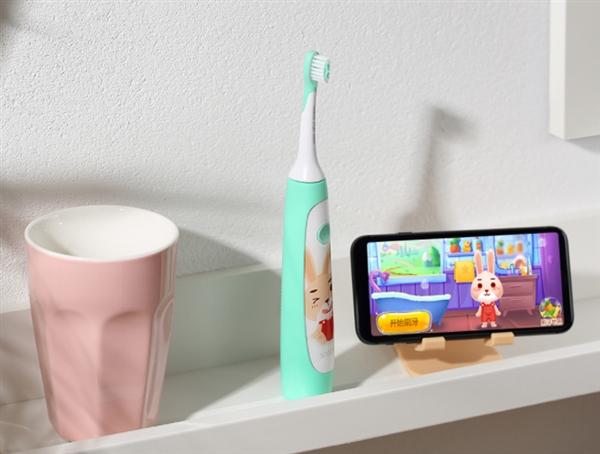 169元 素士儿童声波电动牙刷发布:让宝宝爱上刷牙