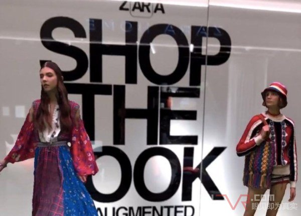 ZARA热衷于采用AR技术推出新型购物体验
