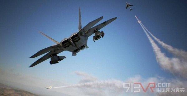 VR空战游戏《皇牌空战7:未知空域》即将登陆PSVR