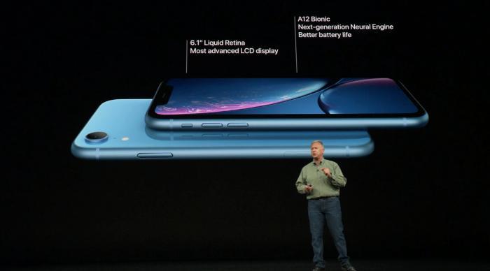 苹果发布iPhone XR 配备多款颜色可供选择