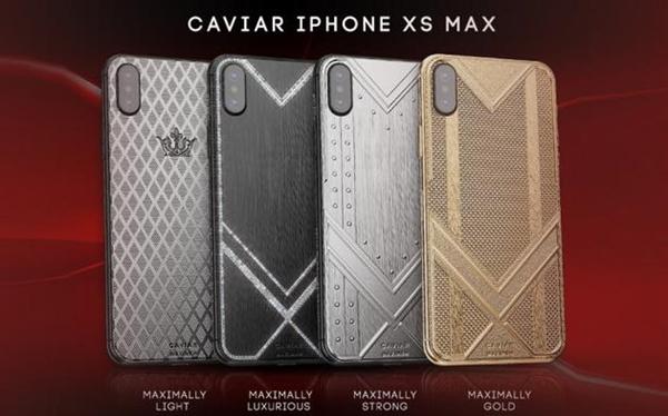 奢侈版iPhone XS Max亮相 纯金售价1.5万美元