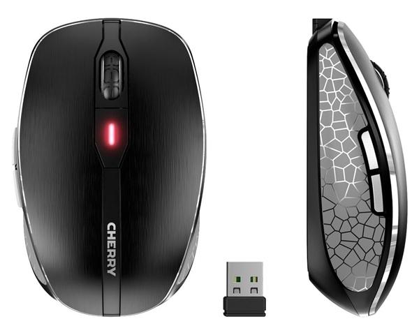 樱桃发布MW8 Advanced无线鼠标:一鼠两用