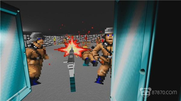 民间高手威武:《Wolfenstein 3D》VR版发布,免费下载!