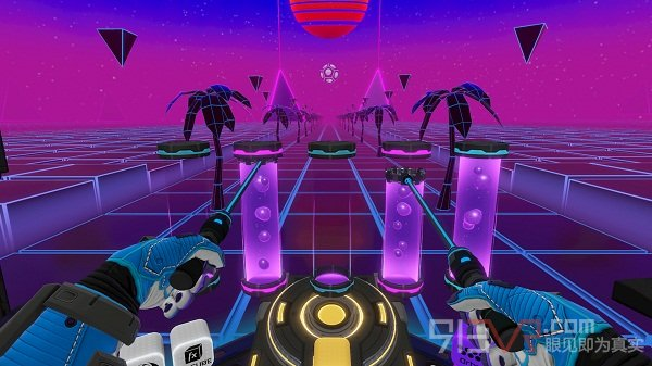 VR音游《Electronauts》支持HTC Vive