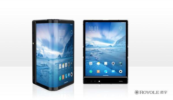 柔宇科技发布可折叠柔性屏手机FlexPai,售价8999元起