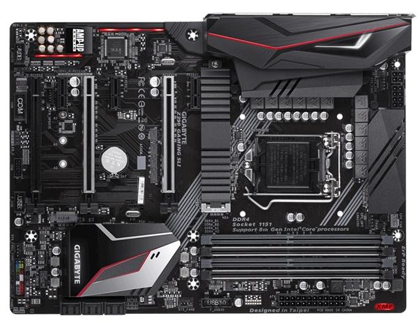 技嘉公布十款Z390主板:支持Intel 9代酷睿CPU