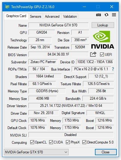 GPU-Z 2.16.0版发布:支持RTX 2060