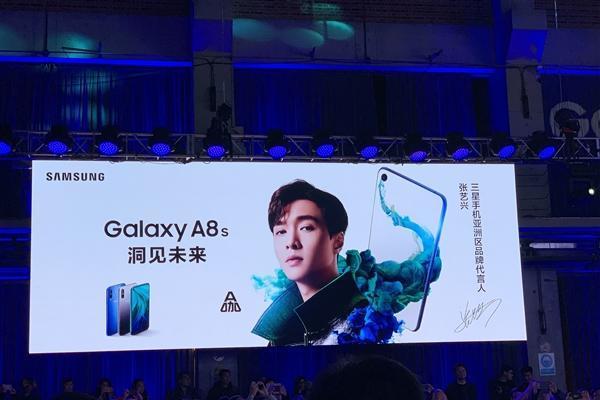 三星Galaxy A8s发布:首发黑瞳全视屏 12...
