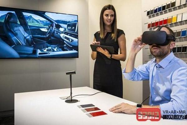 奥迪积极采用VR技术进行汽车销售