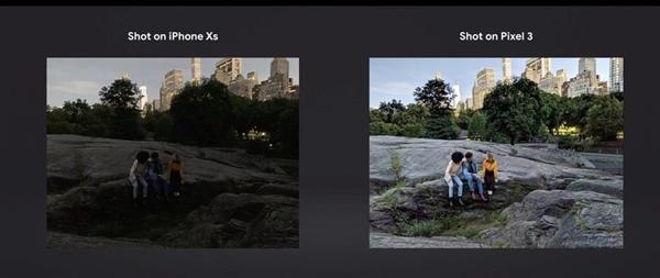 谷歌让苹果难堪:iPhone XS拍照被Pixel 3完秒
