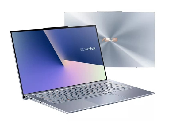 前刘海摄像头!华硕ZenBook S13笔记本发布:2.5mm全球最窄边