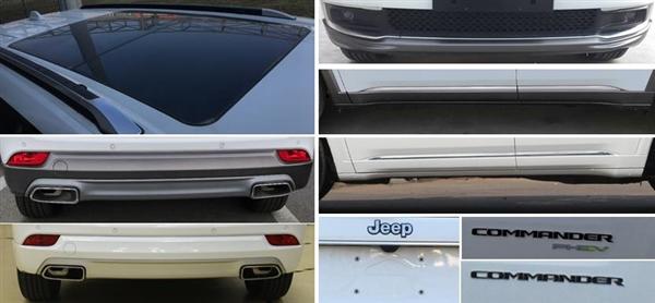 油耗仅1.6升!Jeep大五座SUV曝光:尺寸不输汉兰达