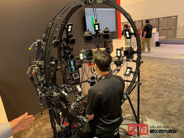EA展示了如何快速捕捉运动员比赛中3D面部扫描技术