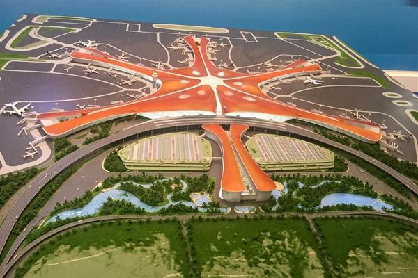 北京大兴国际机场完成第一飞:9月30日前通航