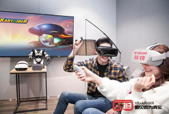 SK电信和KT将推出针对5G智能手机设计的多人VR游戏