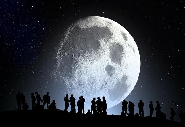 十五月亮十五圆!今年元宵节将现年度最大最圆月亮