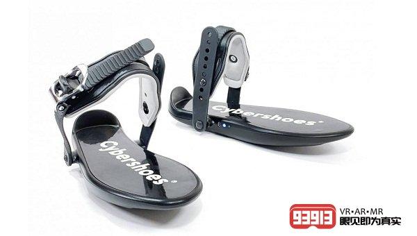 VR运动鞋Cybershoes支持HTC Vive