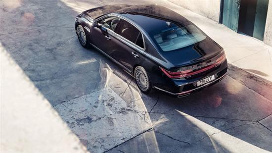 现代高端品牌捷恩斯推G90豪华加长版 尺寸超迈巴赫S