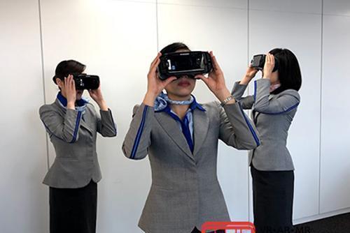 航空公司采用VR技术进行安全培训