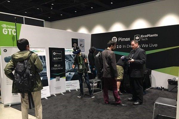 小派科技参展GTC2019,商业版VR头显RE系列...