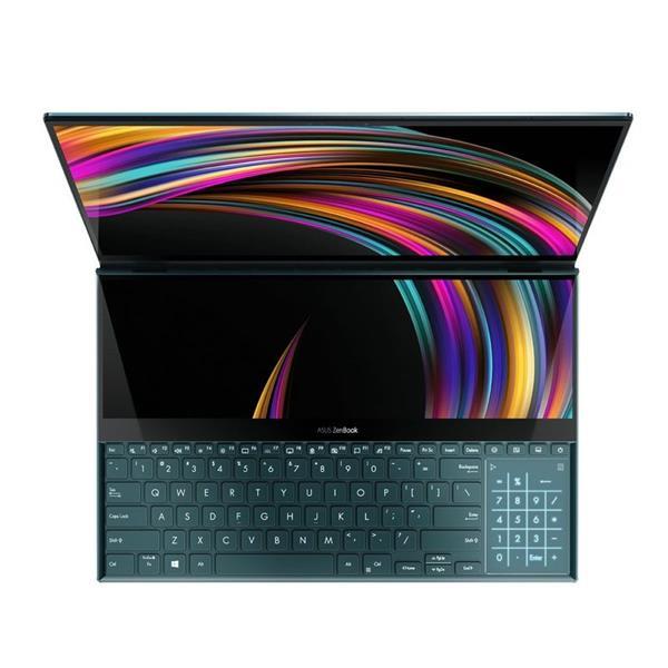 Core i9加持!华硕发布ZenBook Pro Duo:史无前例的双屏4K显示
