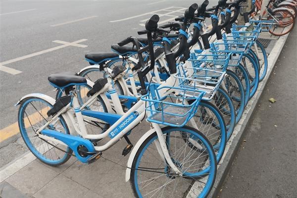 北京超额投放3万辆单车 哈啰单车被罚 官方回应
