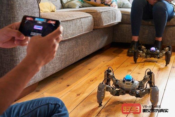 Reach Robotics是世界上第一款AR游戏...