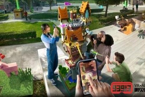 微软推出了免费AR游戏《Minecraft Ear...
