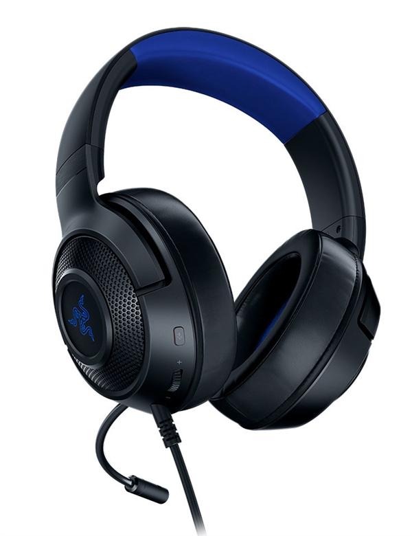 听音辩位!雷蛇推出Kraken X超轻型7.1声道游戏耳机